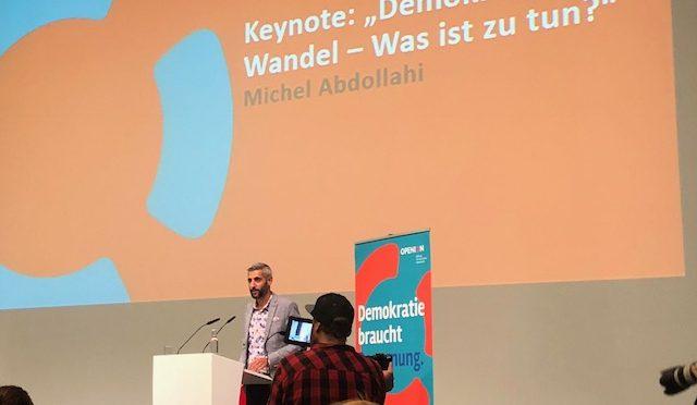 demokratie.bildung heute – OPENION Bundeskongress in Berlin