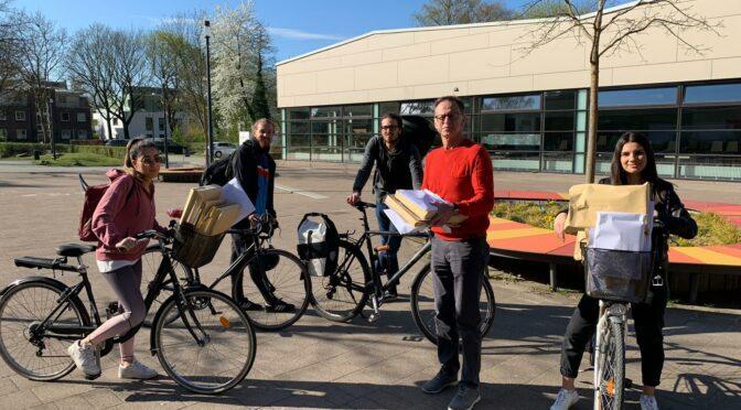 Fahrrad-Kurierdienst in Zeiten von Corona